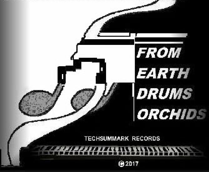 Album Cover FROM EARTH DRUMS ORCHIDS Track 2:  Withal